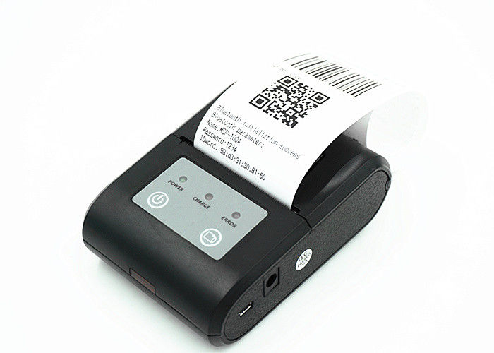 High Speed Mini handheld type portable thermal printer 58mm support bluetooth interface