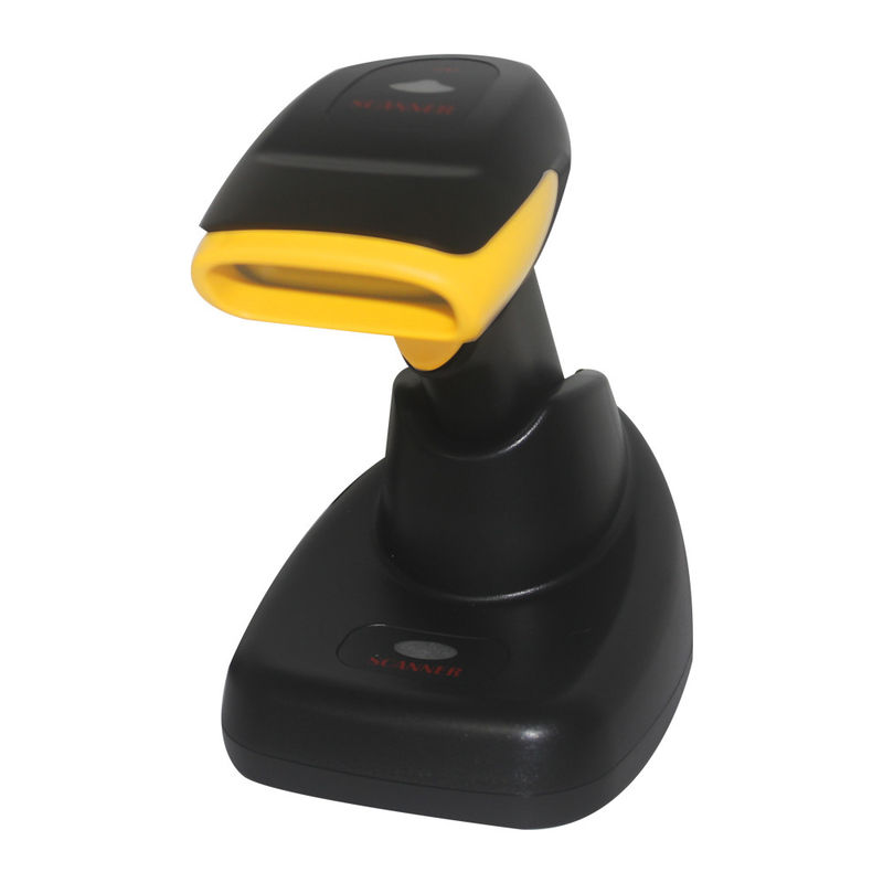 2D Wireless Long Distance Handheld Barcode Scanner With Charging Port